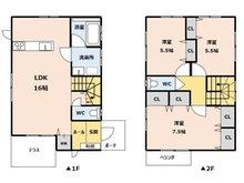 武岡1 3180万円 3180万円、3LDK、土地面積109.93㎡、建物面積87.54㎡