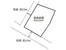 大字椎田(椎田駅) 580万円 土地価格580万円、土地面積426.59㎡