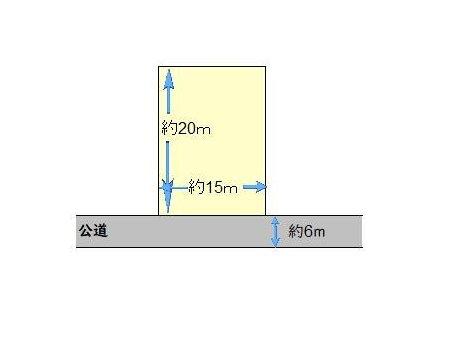 大字御徳(小竹駅) 350万円 土地価格350万円、土地面積290㎡現地