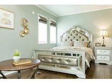 【セルコホーム】姶良平松 クイーンアン・スタイル モデルハウス 【一戸建て】 主寝室は高級感のある仕上がりに。