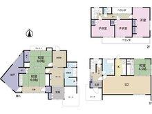 大字神崎(西大分駅) 650万円 650万円、6LDK+S(納戸)、土地面積454.3㎡、建物面積161.78㎡母屋と離れの2棟になります。離れの和室北側の床はフローリングに代わっています。