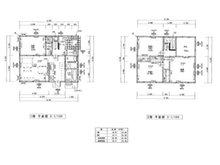 神湊 520万円 建物プラン例建物価格 1130万円、建物面積 102.68㎡