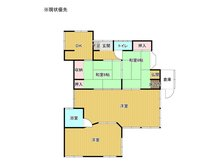 下山田 150万円 150万円、4DK、土地面積246.56㎡、建物面積82.39㎡