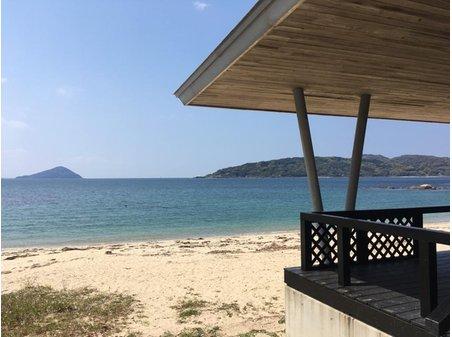 志摩船越 500万円 組合員に使用権がある、プライベートビーチ。 更衣室やトイレ、バーベキュースペースもございます。