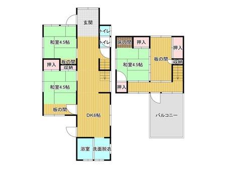 宮尾町(田川後藤寺駅) 390万円 390万円、4DK、土地面積134.39㎡、建物面積81.81㎡