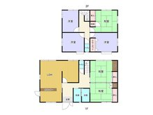 奥田3(小森江駅) 1280万円 1280万円、6LDK、土地面積310㎡、建物面積153.28㎡